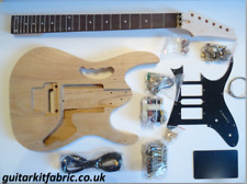 DiY Electric Guitar kit - Jem Ibanez Gold, Ash