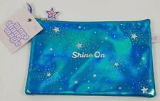 """Iridescent Blue Shine On Pencil Pouch More Than Magicâ""""¢ cosmetic travel bag"""