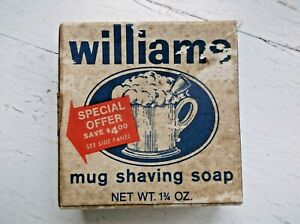 Vintage Williams Mug Shaving Soap