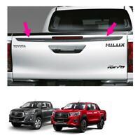 Fits Toyota Hilux Revo Rocco 4 Dr 15 18 19 Genuine Rear Tailgate Blade Trim Grey