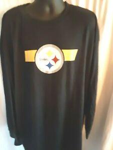 Pittsburgh Steelers NFL Men's Majestic Big & Tall Shirt 4XLT or 6X