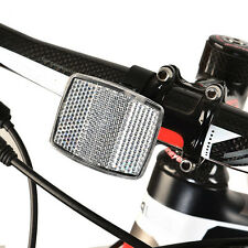 white Road Cycle Bike Bicycle Reflector Light Reflective Strips Stick Front Rear