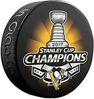 Pittsburgh Penguins 2017 NHL Stanley Cup Champions Souvenir Hockey Puck