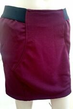 Women's Glamorous Bodycon Bergundy Skirt. Size UK 12 BRAND NEW