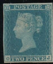 SG14, SCARCE 2d blue-Plate 3- - lightly mounted mint with Certificate -Cat £6500