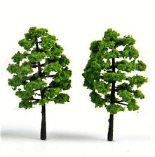 Miniature Dollhouse Fairy Garden Green Shrubs/Trees - Set of Two - Buy 3 Save $5