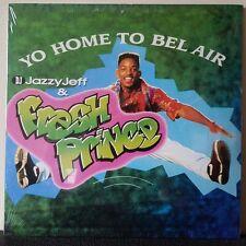 "DJ JAZZY JEFF & FRESH PRINCE - Welcome To Bel Air 12"" Single Vinyl Will Smith TV"