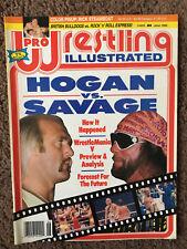 Pro Wrestling Illustrated lot