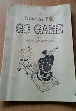 HOW TO PLAY GO GAME INSTRUCTIONS MANUAL