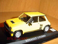 RENAULT 5 TURBO YELLOW 1:43 MINT!!!