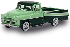 Oxford 87DP57003 201133440 - 1/87/H0 Dodge D100 Sweptside Pick-Up - Verde