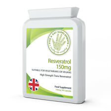 FIVE A DAY SUPPLEMENTS Resveratrol 150mg 90 Capsules