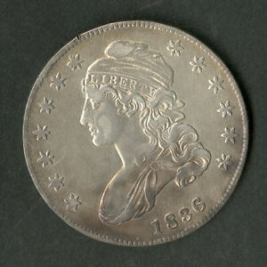 US Coin 1836 Early Bust Half Dollar NO RESERVE!