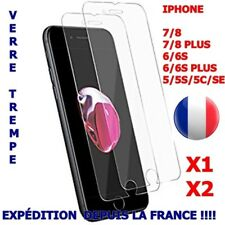 Vitre VERRE TREMPE Protection iPhone 6/7/8 PLUS iPHONE  5/6/7/8/6s/5S/5C/SE VITR