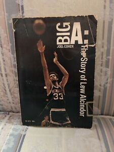 The Big A: The Story Of Lew Alcindor by Joel Cohen Vintage Paperback Book 1971.