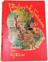 FABLES DE LA FONTAINE.JEAN DE LA FONTAINE. EDIT.MONTANER ET SIMÓN BARCELONA 1885