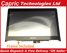 Genuine Lenovo Yoga 500-14IBD 80N4 Touch Screen Digitizer Assembly With Frame