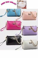New Pu Lady Women Handbag Shoulder Bags Tote Purse Satchel  Messenger Hobo Bag