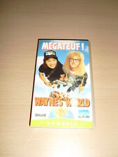 WAYNE'S WORLD VHS Mike Myers Comédie Rob Lowe Alice Cooper 1992