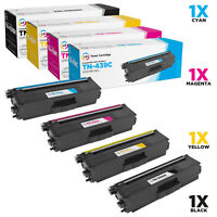 LD Compatible Brother TN439 Ultra HY Toners (Black Cyan Magenta Yellow) 4PK