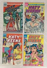ARCHIE COMICS  KATY KEENE 12, 16, 21, 22  1985  1987  NICE COPIES