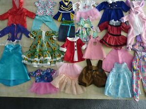 """Huge Lot Doll Clothes For 18"""" Dolls - American Girl Our Generation Battat"""