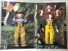"""1:12 NECA IT Pennywise Clown 1990 Ultimate 7"""" Action Figure Movie Doll New"""