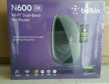 Belkin - N600 Dual-Band Wi-Fi Router - Black  (Latest Generation)