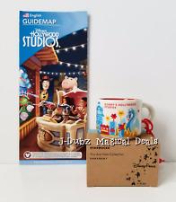 Disney Starbucks You Are Here Hollywood Studios Ceramic Mug Ornament New Box