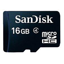Carte Micro SD 16 Go Genuine SANDISK Téléphone Portable Appareil Photo Numérique Carte Mémoire