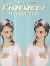 CATALOGO FIORUCCI WONDERLAND FALL-WINTER 96/97 PRIMA EDIZIONE   1996