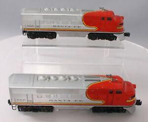 Lionel 2383 Vintage O Santa Fe F-3 AA Diesel Locomotives