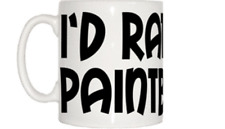 I'd Rather Be Paintballing Mug