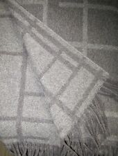 Wool Plaid Blanket Bedspread Couch Cover Sofa 130x180 CM 100%
