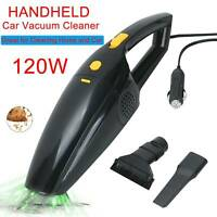 Portable Handheld Vacuum Cleaner Car Home Wet & Dry Rechargeable Black