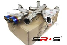 SRS TYPE-R1 CATBACK EXHAUST SYSTEM FOR 2014 FORD FOCUS ST 2.0L TURBO 3