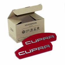 Reparatursatz Blende Cupra Emblem rot Seat Leon 5F Logo für Bremssattel vorn