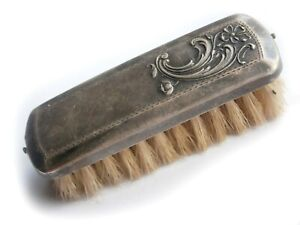 Brush STERLING SILVER Mark 875 Russia USSR Before 1954 Russian JEWELRY Soviet