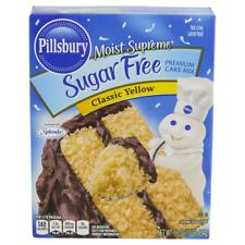 Pillsbury Sugar Free Premier Cake Mix Classic Yellow 16 oz  ( 2 boxes )