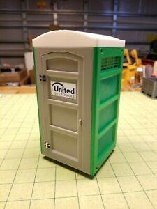 "New Miniature Portable ""Porta-Potty"" Toilet for 1/14 Scale Construction Sites"