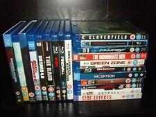 Blu ray Bundle 20+ Blu rays - Raid, Die Hard 4, Furious 4&6, Inception & more