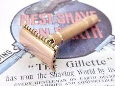 Gillette New Short Comb Vintage Double Edge Safety Razor