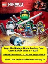 Lego Ninjago Serie 3 Trading Card Game 6 Karten zum aussuchen Auswahl 1-182