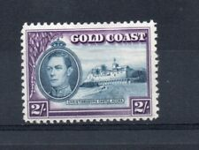GOLD COAST GEORGE VI 2/- SG130 Line perforation lightly hinged. Cat £65.