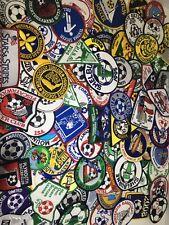 VTG patch mostly boys girls 90s youth uniform soccer symbols logos Lot Of 25