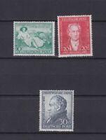 GERMANY 1949, Mi#108-110, US&British Zone, MH