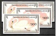 Equatorial Guinea  4 Sheets  MNH Swan