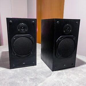 STRATO Lautsprecher Reflex BR 16 Bass Reflex 2 Lautsprecher Boxen - Schwarz