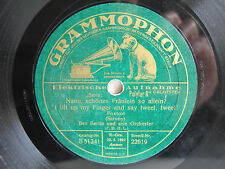 78rpm BEN BERLIN - Button up your Overcoat / I lift up my Finger and say tweet
