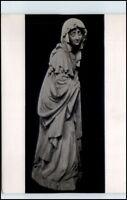 ROTTWEIL Lorenzkapelle Skulptur Trauernde Frau ~1955 alte Postkarte